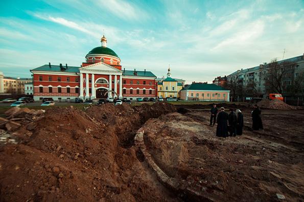 Митрополит Феофан: Не исключено, что Казанский собор будет восстановлен на историческом фундаменте