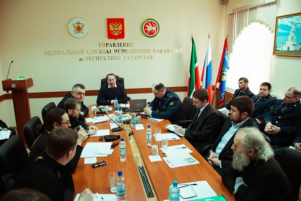 Представители руководства УФСИН РТ встретились с православными священниками