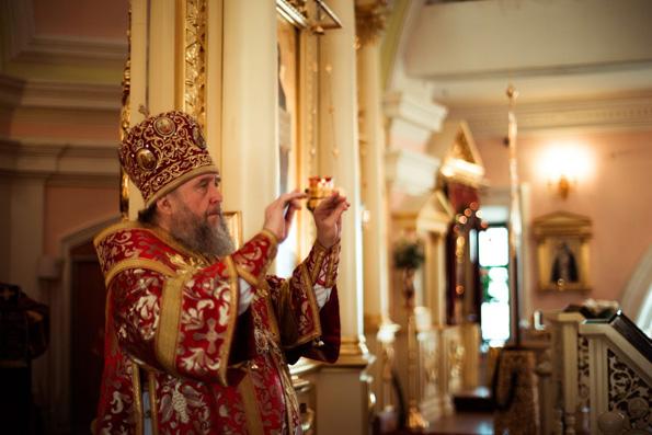 Глава Казахстанского Митрополичьего округа совершил Литургию на месте явления Казанской иконы Пресвятой Богородицы