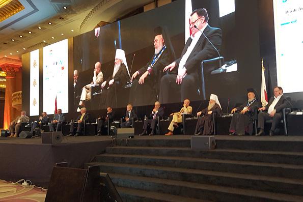 Глава Татарстанской митрополии принял участие в организованной МИД Ливана международной конференции