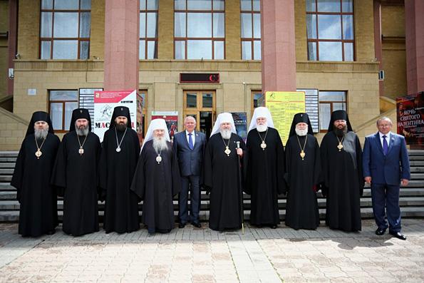 Глава Татарстанской митрополии принял участие в праздновании 170-летия Ставропольской духовной семинарии