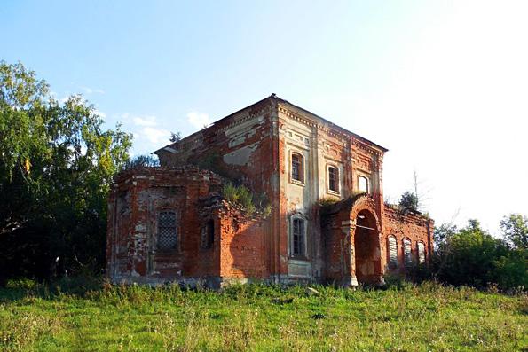 Храм святителя Николая Чудотворца, село Багряж-Никольское