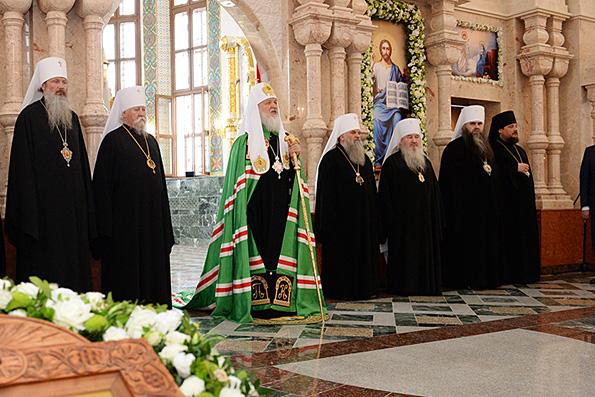 Святейший Патриарх Кирилл совершил визит в Йошкар-Олинскую епархию
