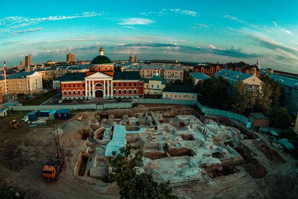 Раскопки на территории Казанско-Богородицкого мужского монастыря подходят к завершению