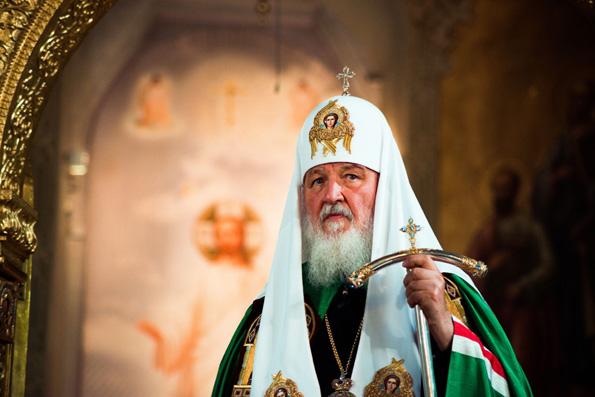 Слово Святейшего Патриарха Кирилла после Литургии в Благовещенском соборе Казанского кремля