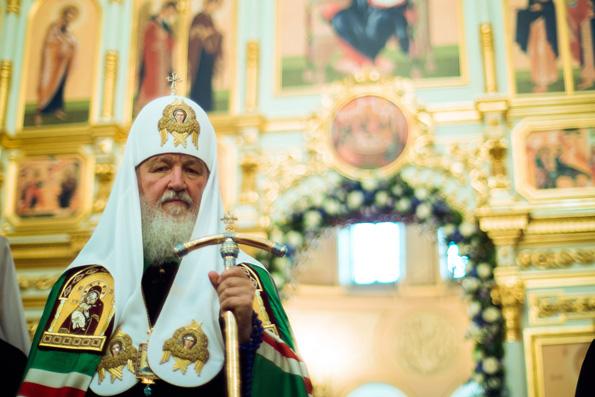 Слово Святейшего Патриарха Кирилла после всенощного бдения в Свияжском монастыре