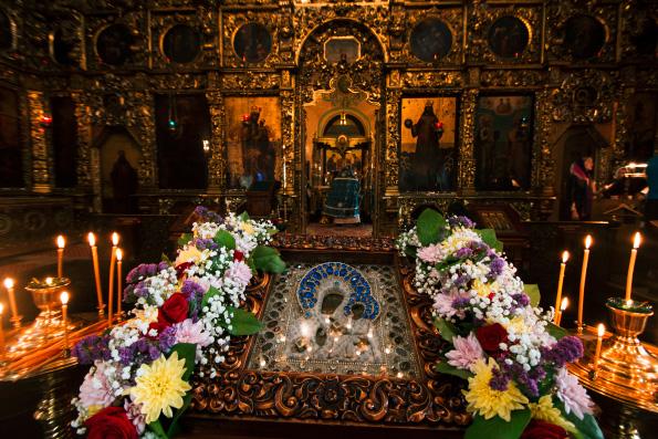 В Казани состоялись богослужения в честь Седмиезерного образа Пресвятой Богородицы