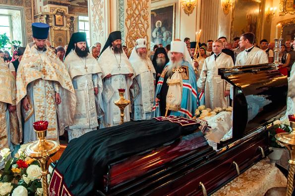 Слово митрополита Феофана на погребении настоятеля Раифского монастыря архимандрита Всеволода (Захарова)
