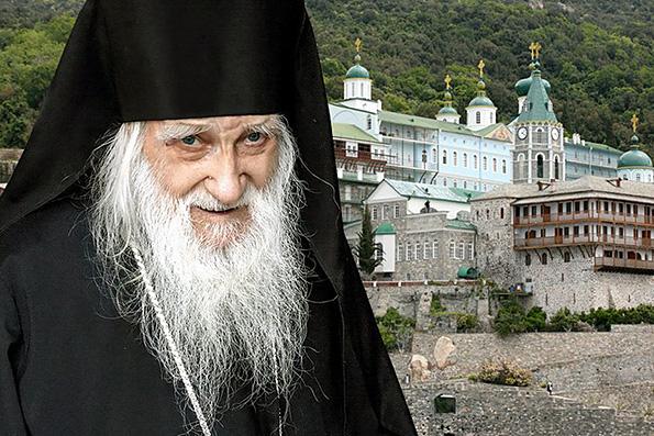 Игумен русского монастыря на Афоне скончался в возрасте 100 лет