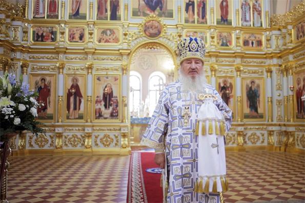 Слово митрополита Феофана в праздник Успения Пресвятой Богородицы в Свияжском монастыре