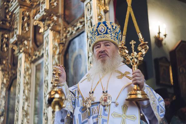 Слово митрополита Феофана на начало учебного года после Литургии в домовом храме Казанской духовной семинарии
