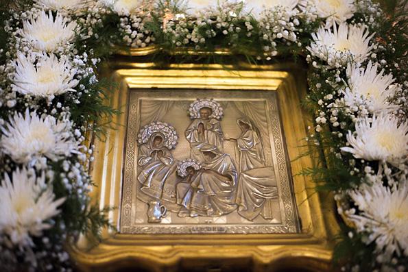 Проповедь митрополита Феофана в канун празднования Рождества Богородицы в Никольском соборе Казани