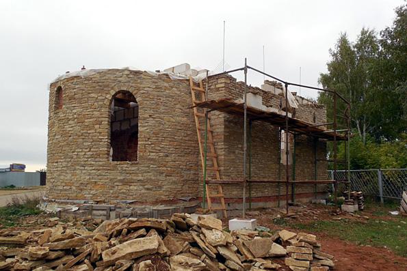 Храм благоверного Олега Брянского, город Менделеевск