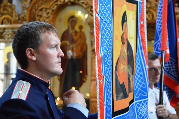 В Свято-Вознесенском архиерейском подворье Набережных Челнов отметили праздник Донской иконы Божией Матери