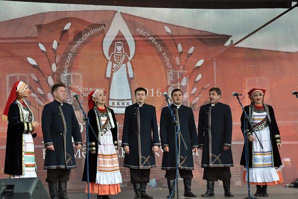 Фестиваль православной культуры кряшен «Вербицы сад» прошел в Свияжске