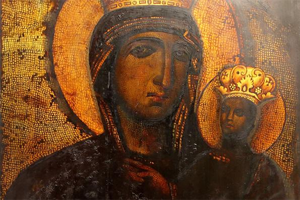 Икона Божией Матери, именуемая «Всеблаженная» (в Казани)
