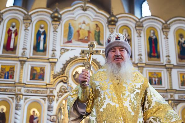 Проповедь митрополита Феофана в Неделю по Богоявлении в Софийском соборе города Лаишево