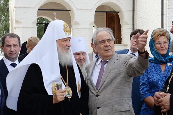 Поздравление Святейшего Патриарха Кирилла государственному советнику Республики Татарстан М.Ш. Шаймиеву с 80-летием