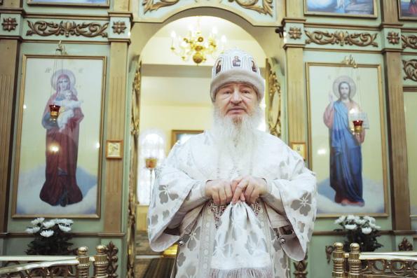 Проповедь митрополита Феофана в Рождественский сочельник