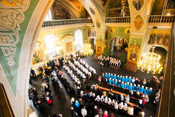 В Казани прошел Рождественский фестиваль духовной музыки