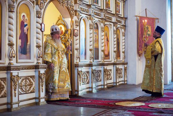 В ходе посещения Лаишевского благочиния митрополит Феофан объявил о начале возрождения женского монастыря