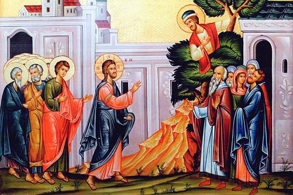 Неделя о Закхее: Сын Человеческий пришел взыскать и спасти погибшее
