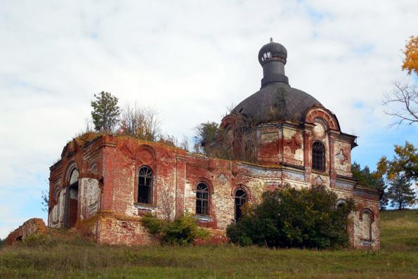 Храм первоверховных апостолов Петра и Павла, село Крынды