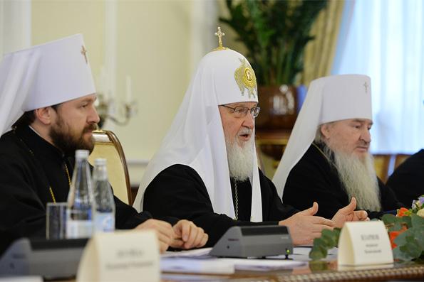 Митрополит Феофан принял участие в заседании Межрелигиозного совета России