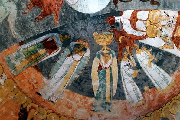 Ученые выдвинули первые версии авторства фресок Успенского собора Свияжского монастыря