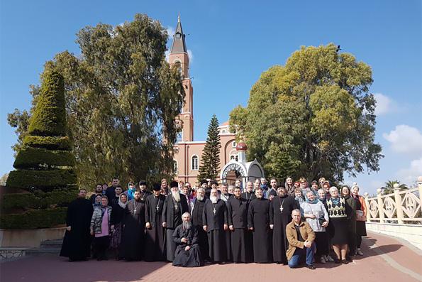 В дни Великого поста паломники из Казанской епархии посещают Святую Землю