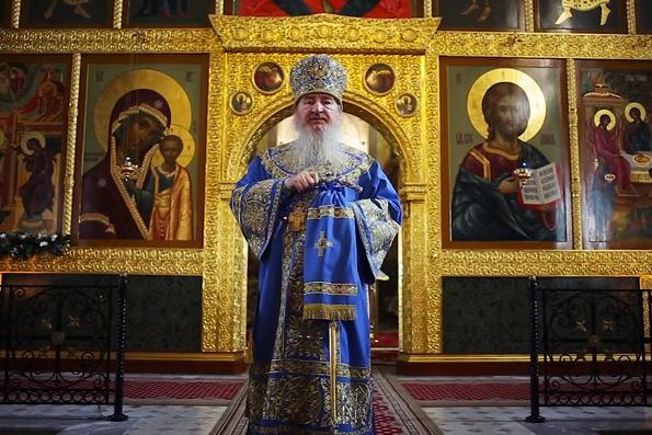 Проповедь митрополита Феофана в праздник Благовещения Пресвятой Богородицы в Благовещенском соборе Казанского кремля