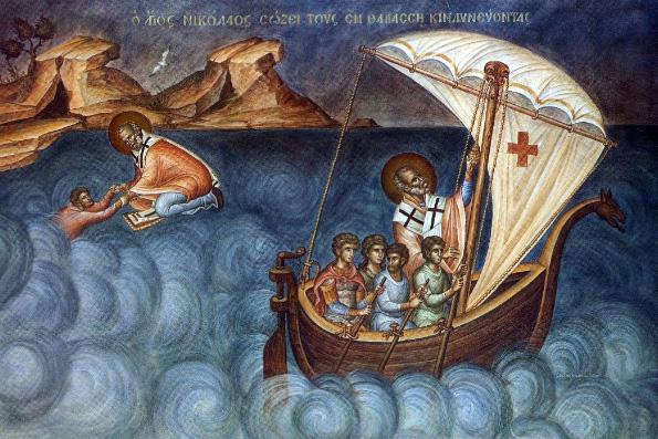 Святитель Николай Чудотворец — спаситель плавающих по водам житейского моря