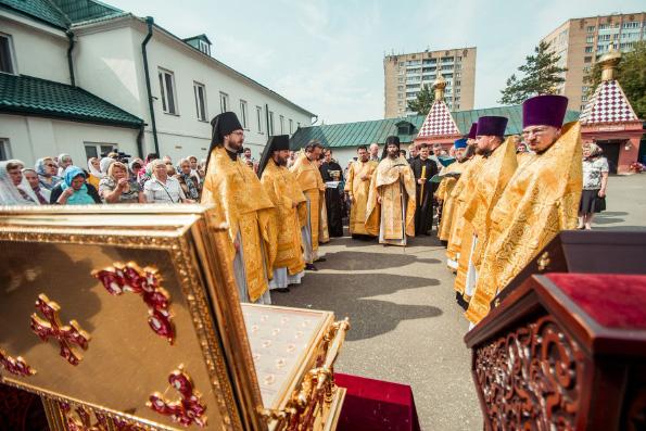 В Казани молитвенно встретили День Крещения Руси