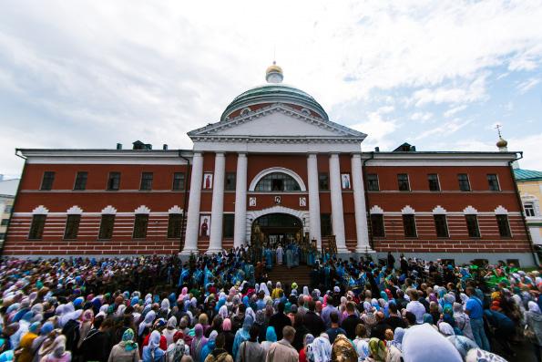Торжества в честь явления иконы Божией Матери во граде Казани прошли в столице Татарстана