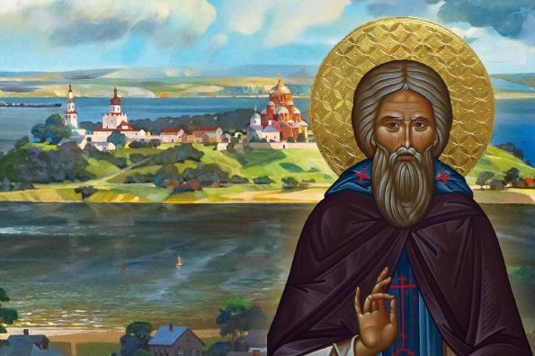 Духовная связь преподобного Сергия Радонежского с Казанью