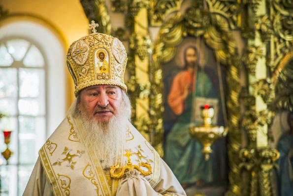 Проповедь митрополита Феофана в Неделю 11-ю по Пятидесятнице в Раифском монастыре