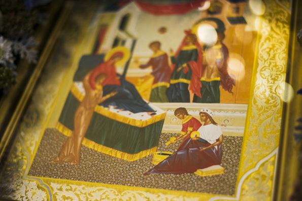 Проповедь митрополита Феофана в канун праздника Рождества Пресвятой Богородицы